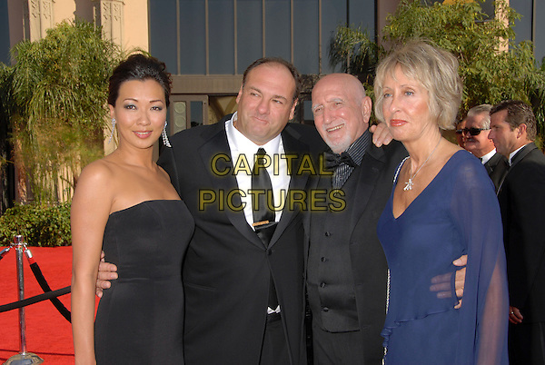 CAST OF THE SOPRANOS - JAMES GANDOLFINI.Arrivals - 59th Annual Primetime Emmy Awards held at the Shrine Auditorium, Los Angeles, California , USA,.16 September 2007..half length.P/ADM/BP.©Byron Purvis/AdMedia/Capital Pictures.