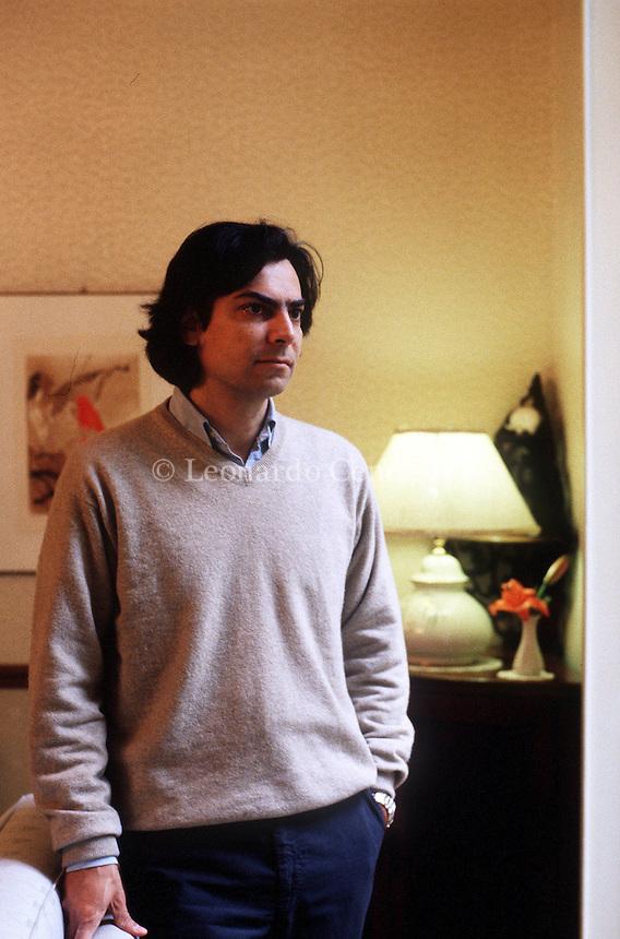 2000: DIEGO MAINARDI, WRITER © Leonardo Cendamo