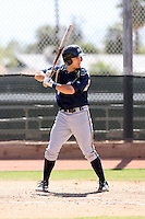 Jonathan Lucroy, Milwaukee Brewers 2010 minor league spring training..Photo by:  Bill Mitchell/Four Seam Images.