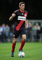 FUSSBALL   1. BUNDESLIGA   SAISON 2011/2012   TESTSPIEL Bayer 04 Leverkusen - Rangers FC                       13.07.2011 Daniel SCHWAAB (Bayer 04 Leverkusen) Einzelaktion am Ball