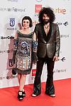 Ara Malikian and Natalia Moreno attends to XXV Forque Awards at Palacio Municipal de Congresos in Madrid, Spain. January 11, 2020. (ALTERPHOTOS/A. Perez Meca)