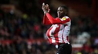 Josh DaSilva celebrates at the final whistle with the match ball under his shirt after scoring three goals during Brentford vs Luton Town, Sky Bet EFL Championship Football at Griffin Park on 30th November 2019