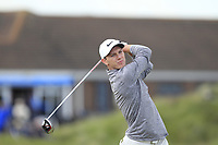 Rowan Lester (Hermitage) on the 5th tee during Round 1 of the The Amateur Championship 2019 at The Island Golf Club, Co. Dublin on Monday 17th June 2019.<br /> Picture:  Thos Caffrey / Golffile<br /> <br /> All photo usage must carry mandatory copyright credit (© Golffile | Thos Caffrey)