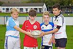 Pictured at the Tralee Rugby Club fun day on Saturday were Daragh Corr, Paul Fitzgibbon, Daragh O'Keeffe, Sam Hawe