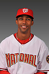 14 March 2008: ..Portrait of Alberto Tavarez, Washington Nationals Minor League player at Spring Training Camp 2008..Mandatory Photo Credit: Ed Wolfstein Photo