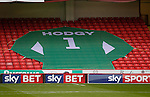 A giant shirt in remembrance of former goalkeeper Alan Hodgkinson - English League One - Sheffield Utd vs Coventry City - Bramall Lane Stadium - Sheffield - England - 13th December 2015 - Pic Simon Bellis/Sportimage-