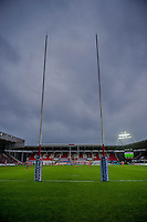 Saturday 10 May 2014<br /> Pictured:<br /> Re: Scarlets v Blues Rabo Direct Pro 12 Rugby Union Match at Parc y Scarlets, Llanelli, Wales