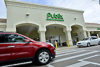 MIRAMAR, FL - OCTOBER 06: Customer arriving at Publix supermarket before the store close as Hurricane Matthew approaches the area on October 6, 2016 in Miramar, Florida. The hurricane is expected to make landfall sometime this evening or early in the morning as a possible category 4 storm.Credit: MPI10 / MediaPunch