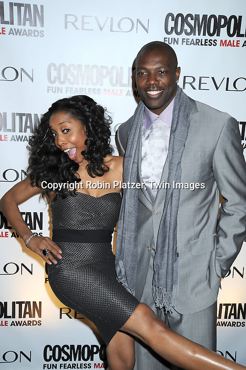 Kita Williams and Terrell Owens of The TO Show on VH1