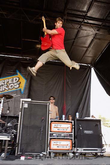 The Starting Line, Vans Warped Tour, Fairgrounds; 7.16.2005<br />