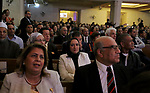 Egyptians attend the ceremony of reform in the Church of the Dupara Evangelical Palace, in Cairo, Egypt, on November 18, 2017. Photo by Amr Sayed