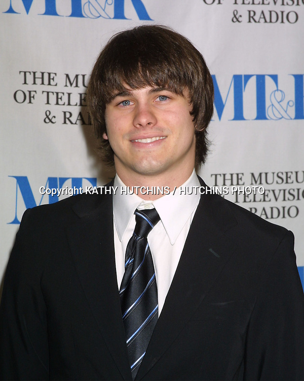 ©2003 KATHY HUTCHINS / HUTCHINS PHOTO.MUSEUM OF TELEVISION AND RADIO ANNUAL LA GALA.BEVERLY HILLS, CA.NOVEMBER 10, 2003..JASON RITTER