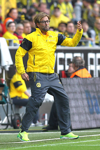 13.09.2014. Dortmund, Germany. Bundesliga football. Dortmund versus Freiburg at  Signal Iduna Park in Dortmund. Trainer Juergen Klopp (Borussia Dortmund)