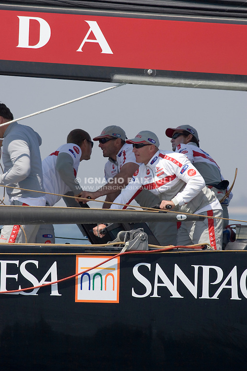 Luna Rossa Challenge -  - LOUIS VUITTON CUP - ROUND ROBIN 1 - DAY 1,2,3,4,6,8 - Races cancelled - 2007 abr 16
