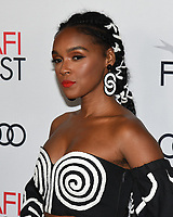 """14 November 2019 - Hollywood, California - Janelle Monae. AFI FEST 2019 Presented By Audi – """"Queen & Slim"""" Premiere held at TCL Chinese Theatre. Photo Credit: Billy Bennight/AdMedia"""