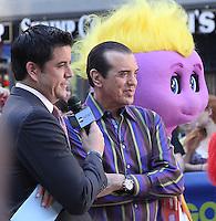August 29, 2012 Jose Elliot interviews Chazz Palminteri at Good Morning America  to talk about his new movie Oogieloves  Big Balloon Adventure in New York City.Credit:© RW/MediaPunch Inc. NortePhoto.com<br /> <br /> **CREDITO*OBLIGATORIO** <br /> *No*Venta*A*Terceros*<br /> *No*Sale*So*third*<br /> *** No*Se*Permite*Hacer*Archivo**<br /> *No*Sale*So*third*