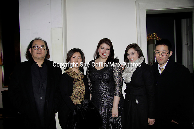 Jazz singer Jane Monheit performs on January 30, 2014 at the Cafe Carlyle, New York City.  (Photo by Sue Coflin/Max Photos)