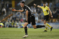 1st November 2019; Leichhardt Oval, Sydney, New South Wales, Australia; A League Football, Sydney Football Club versus Newcastle Jets; Matthew Millar of Newcastle Jets turns to celebrate after scoring to make it 1-1 - Editorial Use
