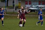 Pukekohe AFC Womens 1st vs Waiuku football game played at Bledisloe Park Pukekohe on Sunday 11th of May 2008.