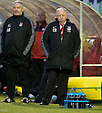29/12/2010   Copyright  Pic : James Stewart.sct_jsp005_craig_brown  .::  ABERDEEN MANAGER CRAIG BROWN AND ASSISTANT ARCHIE KNOX DURING THE GAME AGAINST HAMILTON  ::.James Stewart Photography 19 Carronlea Drive, Falkirk. FK2 8DN      Vat Reg No. 607 6932 25.Telephone      : +44 (0)1324 570291 .Mobile              : +44 (0)7721 416997.E-mail  :  jim@jspa.co.uk.If you require further information then contact Jim Stewart on any of the numbers above.........