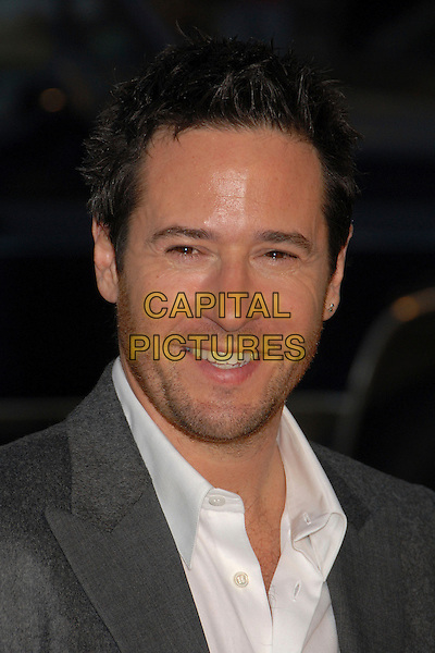 "ROB MORROW.""The Bucket List"" Los Angeles Premiere at the Cinerama Dome, Hollywood, California, USA..December 16th, 2007.headshot portrait stubble facial hair .CAP/ADM/BP.©Byron Purvis/AdMedia/Capital Pictures."