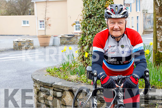 Denny Mulvihill from Athea who is doing a charity cycle for Cystic Fibrosis