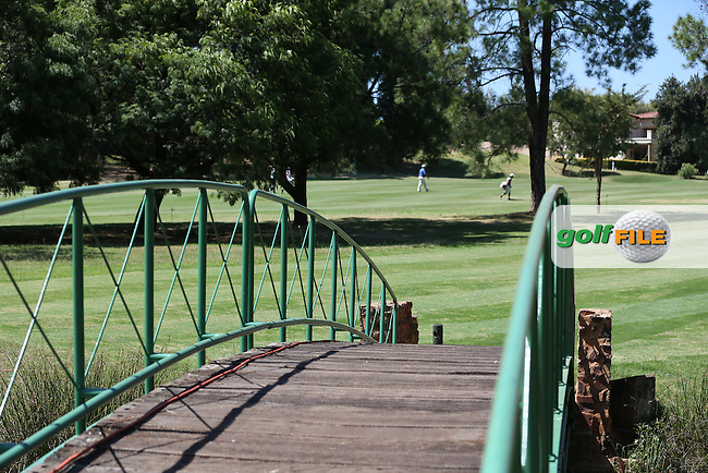 The bridge dividing the 17th with the 13th fairway in the background during Round Two of the Tshwane Open 2015 at the Pretoria Country Club, Waterkloof, Pretoria, South Africa. Picture:  David Lloyd / www.golffile.ie. 13/03/2015