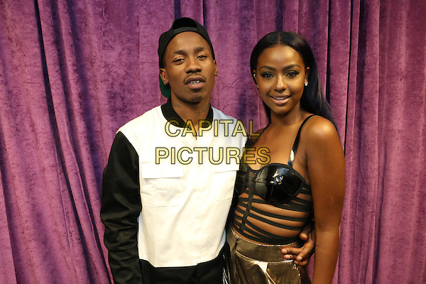 BROOKLYN, NEW YORK - OCTOBER 20, 2015 2 Milly &amp; Justine Skye backstage at the TIDAL X: 1020 concert at the Barclays Center, October 20, 2015 in Brooklyn, New York. <br /> CAP/MPI/RTNGOS<br /> &copy;RTNGOS/MPI/Capital Pictures