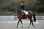 Class 2. Unaffiliated dressage. Brook Farm Training Centre. Essex. UK. 06/10/2018. ~ MANDATORY Credit Garry Bowden/Sportinpictures - NO UNAUTHORISED USE - 07837 394578