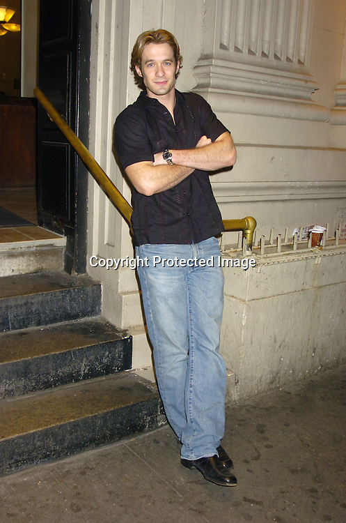 Matthew Metzger ..at Marcia Tovsky's Pre Emmy Party on May 18, 2005 at ..Neogaea. ..Photo by Robin Platzer, Twin Images