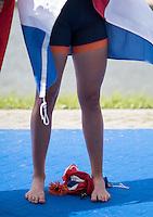 Rotterdam. Netherlands.  NED Flag. {WRCH2016}  at the Willem-Alexander Baan.   Sunday  28/08/2016 <br /> <br /> [Mandatory Credit; Peter SPURRIER/Intersport Images]