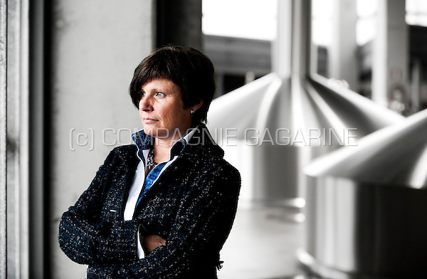 Veerle Baert-Moortgat, director of Duvel Moortgat NV brewery (Breendonk, 18/03/2011)
