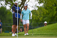 Nuria Iturrioz (ESP) looks over her chip on 1 during the round 3 of the KPMG Women's PGA Championship, Hazeltine National, Chaska, Minnesota, USA. 6/22/2019.<br /> Picture: Golffile | Ken Murray<br /> <br /> <br /> All photo usage must carry mandatory copyright credit (© Golffile | Ken Murray)