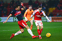 Fleetwood Town's Ashley Hunter scores his side's second goal <br /> <br /> Photographer Richard Martin-Roberts/CameraSport<br /> <br /> The EFL Sky Bet League One - Fleetwood Town v Doncaster Rovers - Wednesday 26th December 2018 - Highbury Stadium - Fleetwood<br /> <br /> World Copyright © 2018 CameraSport. All rights reserved. 43 Linden Ave. Countesthorpe. Leicester. England. LE8 5PG - Tel: +44 (0) 116 277 4147 - admin@camerasport.com - www.camerasport.com
