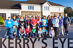 some of the large crowd the joined the family of the late Mary Kate Healy for her Christmas remembrance fun walk which  started at the Killarney Oaks Hotel on the 28th December in aid of Our Lady's Childrens Hospital Crumlin