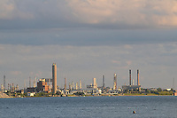 Chemical Valley looking from Centennial Park. Sarnia Bay