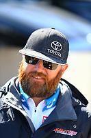 May 21, 2017; Topeka, KS, USA; NHRA top fuel driver Shawn Langdon during the Heartland Nationals at Heartland Park Topeka. Mandatory Credit: Mark J. Rebilas-USA TODAY Sports