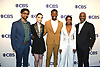 cast of &quot;God Friended Me&quot;, Suraj Sharma, Violett Beane, Brandon Michael Hall, Javicia Leslie &amp; Joe Morton attends the CBS Upfront 2018-2019 at The Plaza Hotel in New York, New York, USA on May 16, 2018.<br /> <br /> photo by Robin Platzer/Twin Images<br />  <br /> phone number 212-935-0770