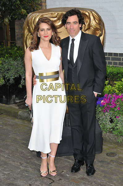 LONDON, ENGLAND - APRIL 26: Louise Delamere &amp; Stephen Mangan attend the British Academy ( BAFTA ) Television Craft Awards 2015, The Brewery, Chiswell St., on Sunday April 26, 2015 in London, England, UK. <br /> CAP/CAN<br /> &copy;CAN/Capital Pictures