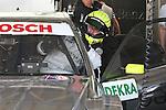 02.07.2010, Norisring, Nuernberg, GER, 4. DTM Lauf Norisring 2010, im Bild<br /> Ralf Schumacher (Laureus AMG Mercedes) steigt in sein Auto<br /> Foto: nph /  News
