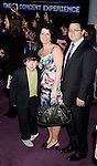 "HOLLYWOOD, CA. - February 24: Kevin Jonas Sr., Denise Jonas and Frankie Jonas arrive at the Los Angeles premiere of ""Jonas Brothers: The 3D Concert Experience"" at the El Capitan Theatre on February 24, 2009 in Los Angeles, California."