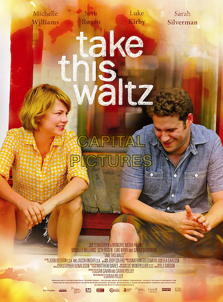 POSTER ART.in Take This Waltz.*Filmstill - Editorial Use Only*.CAP/FB.Supplied by Capital Pictures.