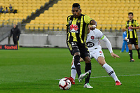 Wellington Phoenix&rsquo; Roy Krishna in action during the A-League - Wellington Phoenix v Western Sydney Wanderers at Westpac Stadium, Wellington, New Zealand on Saturday 3 November  2018. <br /> Photo by Masanori Udagawa. <br /> www.photowellington.photoshelter.com