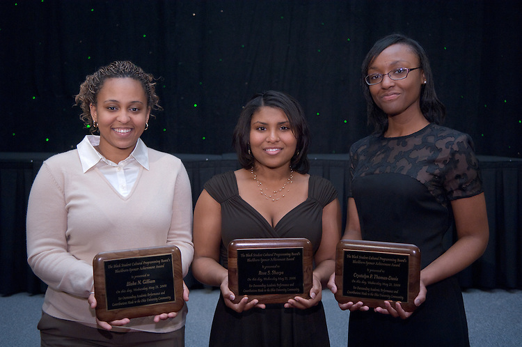 1890525th Annual Leadership Awards Gala..Blackburn/Spencer Achievement Award...Blake Gilliam, Rose Sharpe, and Crystalyn Thomas