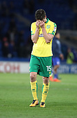 1st December 2017, Cardiff City Stadium, Cardiff, Wales; EFL Championship Football, Cardiff City versus Norwich City; Timm Klose of Norwich City looks dejected after his team lose 3-1 after going ahead in the 1st half