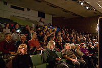 """Banner Theatre's Premier of """"Fighting the Cuts!"""".Library Theatre, Chamberlian Square, Birimingham."""