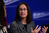 """Washington, DC - February 27, 2017: Illinois Attorney General Lisa Madigan speaks during the """"States Defending Progress forum at the Center for American Progress February 27, 2017.  (Photo by Don Baxter/Media Images International)"""