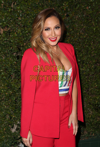 Los Angeles, CA - December 09 Adrienne Bailon Attending Opening Night Of Cirque Du Soleil's &quot;Kurios - Cabinet Of Curiosities&quot; At Dodger Stadium On December 09, 2015. <br /> CAP/MPI/FS<br /> &copy;FS/MPI/Capital Pictures