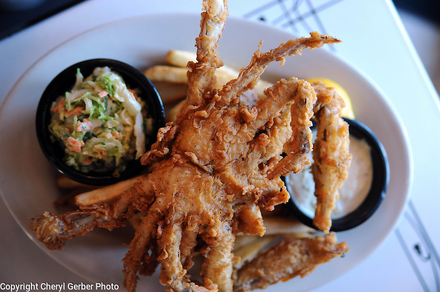 Softshell crab at  Charlie's Seafood in Harahan, La., Thurs., July 8, 2010.