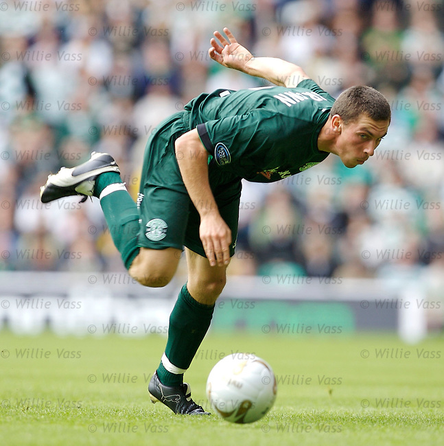 Scott Brown, Hibs.stock season 2006-2007.pic willie vass